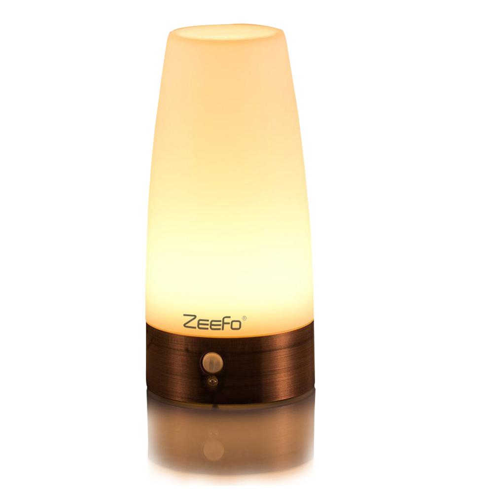 Home Wireless Pir Motion Sensor Led Night Light Table Lamp Warm White For Hotel Home & Garden Lamps, Lighting & Ceiling Fans