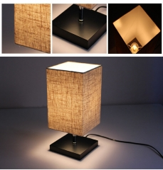 ZEEFO Table Lamp Bedside Desk Lamp