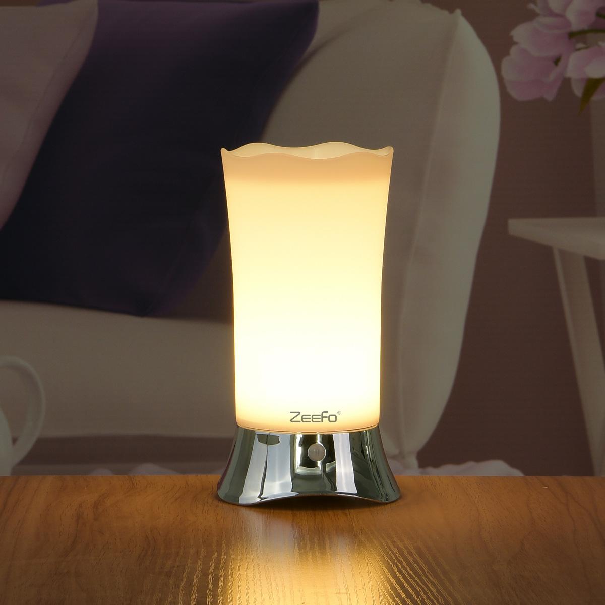ZEEFO Table Lamps / Indoor Motion Sensor LED Night Light,Motion ...